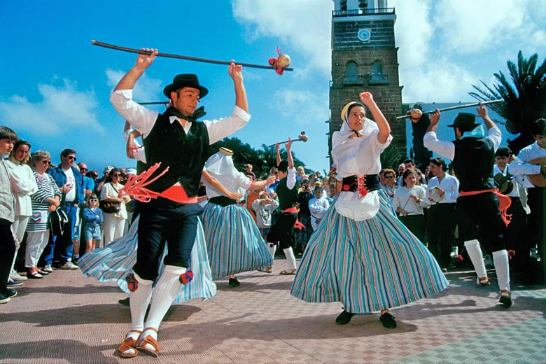 Lanzarote festivals and popular fiestas © Pat Behnke - Alamy Stock Photo