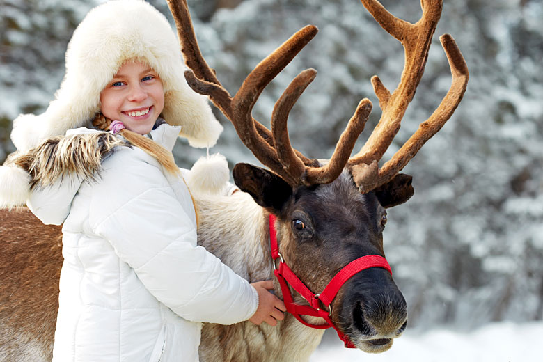 Children love Lapland at Christmas time © Natasnow - Adobe Stock Image