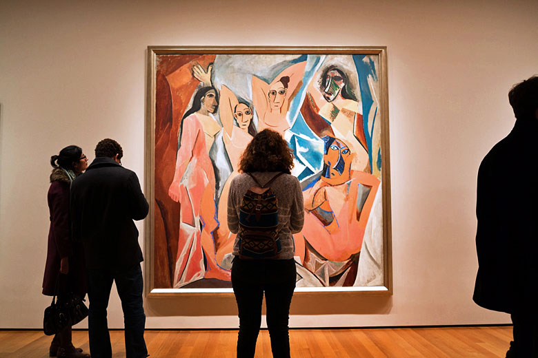 Les Demoiselles d'Avignon by Picasso, Museum of Modern Art, New York © Phil Roeder - Flickr Creative Commons