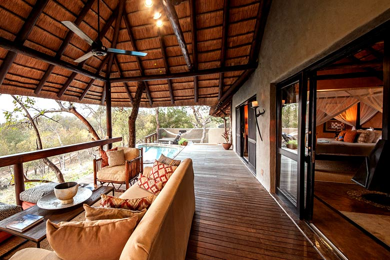 Little Garonga safari camp, on a private reserve near Kruger National Park - photo courtesy of www.garonga.com