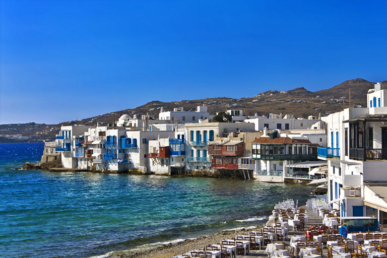 Little Venice on the island of Mykonos, Greece © WitR - Fotolia.com