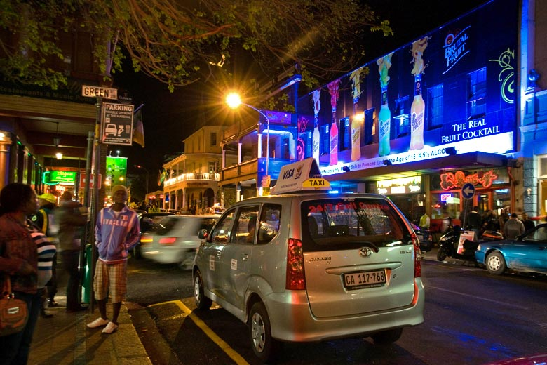 Saturday night on Long Street, Cape Town - photo courtesy of South African Tourism