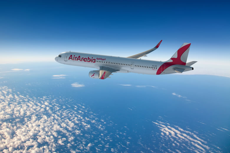 Air Arabia's low cost flights to Africa & the Middle East © Air Arabia