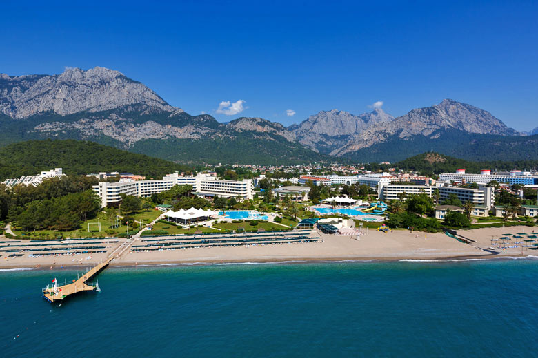 One of many hotels along the coast near Antalya, Turkey © Castenoid - Fotolia.com