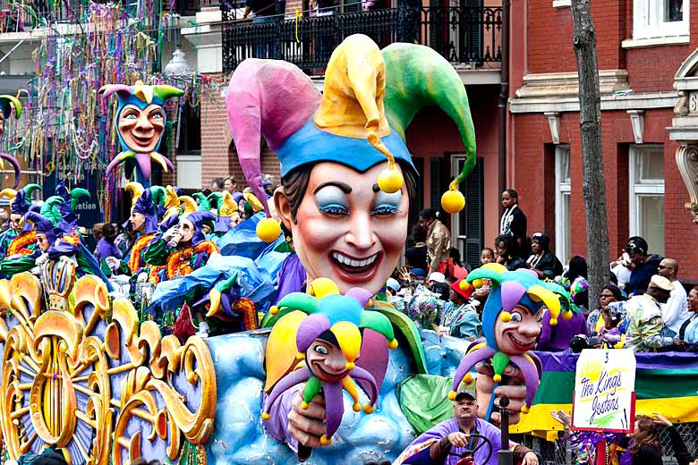 Mardi Gras Parade, New Orleans, Louisiana, USA © Carol M. Highsmith's America - Library of Congress