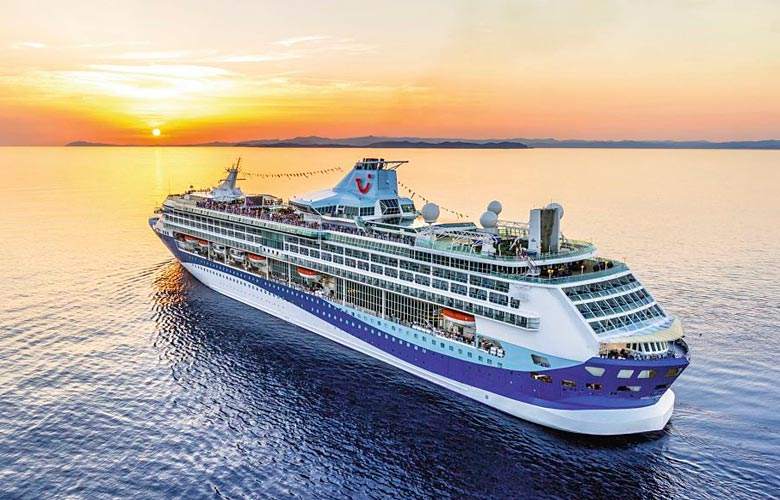 Marella Discovery at sea - photo courtesy of Marella Cruises