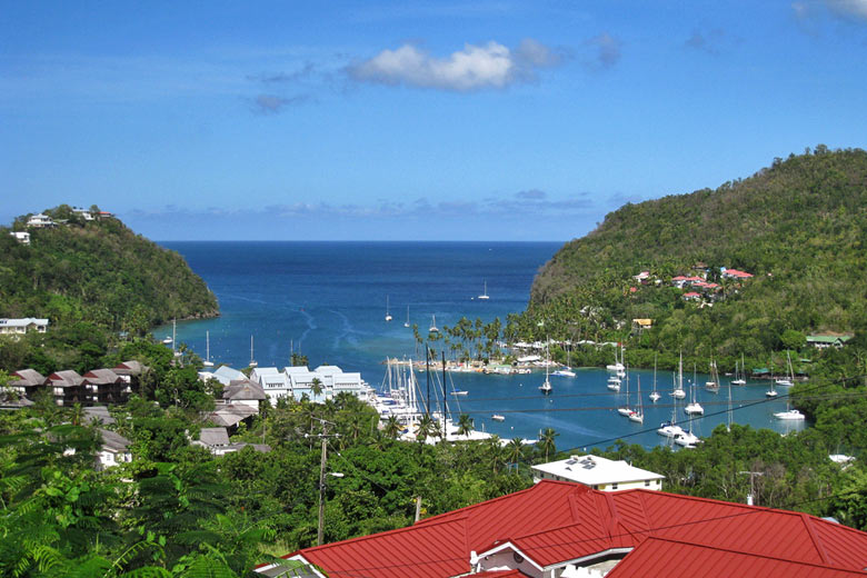 Marigot Bay, St Lucia © Peter Snelling - Flickr Creative Commons