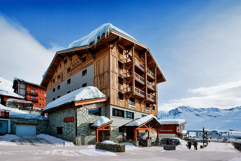 Mark Warner's Chalet Hotel Aiguille Percée in Tignes - photo courtesy of Mark Warner