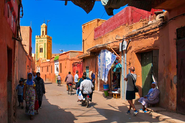 Marrakech street © Aitor García Viñas - Flickr Creative Commons
