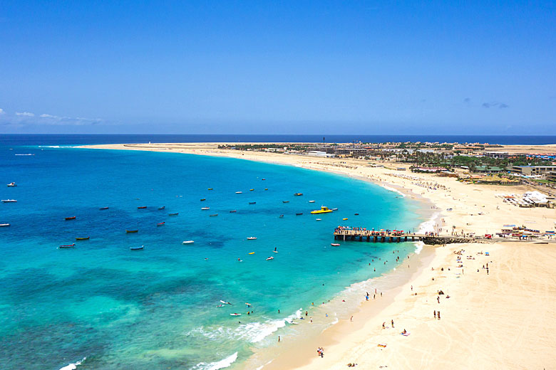 The massive beach at Santa Maria on Sal Island, Cape Verde © Samuel Borges - Fotolia.com