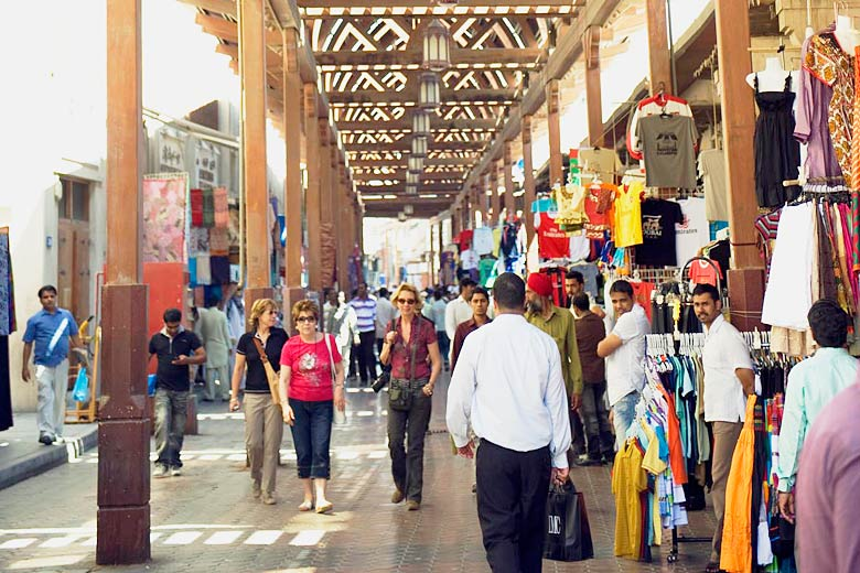 Meena Bazaar, Dubai - courtesy of Dubai Tourism