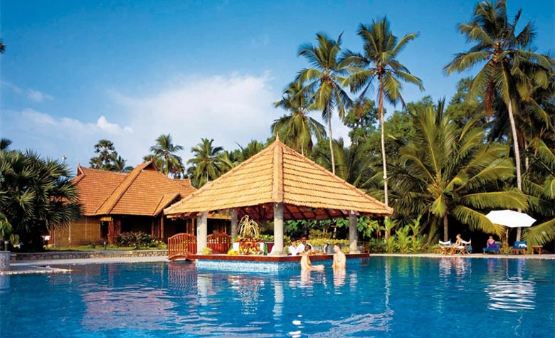 Holiday offers to 4* Poovar Island Resort, Kerala, India © Mercury Holidays