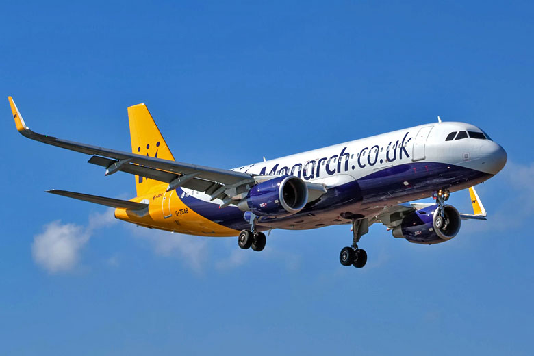 Monarch A320 on approach © Andy Mitchell - Flickr Creative Commons