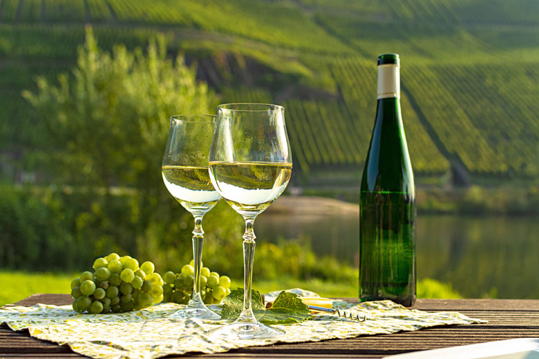 Wine from the Moselle region of Germany © Barmalini - Adobe Stock Image
