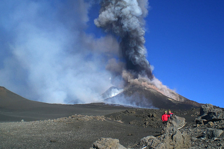 Mount Etna Sicily, eruption 26th October 2013 © gnuckx - Flickr Creative Commons