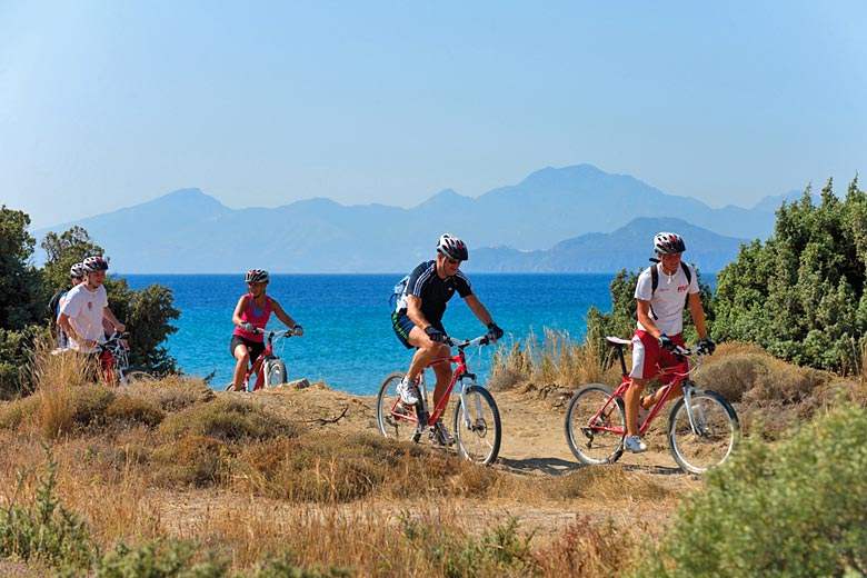 Mountain bikes are included in the price of your Mark Warner holiday - photo courtesy of Mark Warner