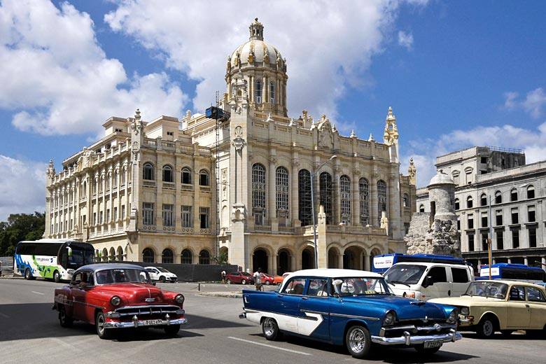 Museum of the Revolution, Havana, Cuba © Michele Burgess - Alamy Stock Photo