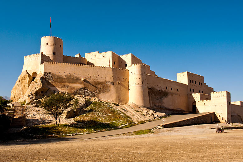 The impressive Nakal Fort in Oman © Oman Tourism - Flickr Creative Commons