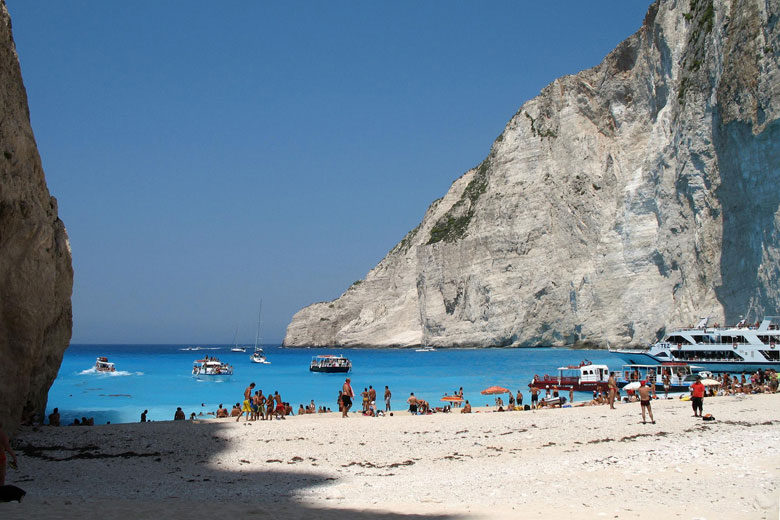 Navagio Beach, Zante © Paolo Rosa - Flickr Creative Commons