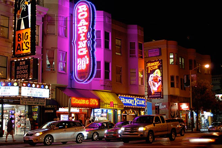 Clubs in North Beach San Francisco © Julie Pimentel - Flickr Creative Commons