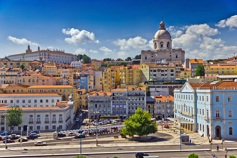 Part of the Alfama district in Lisbon © MF - Fotolia.com