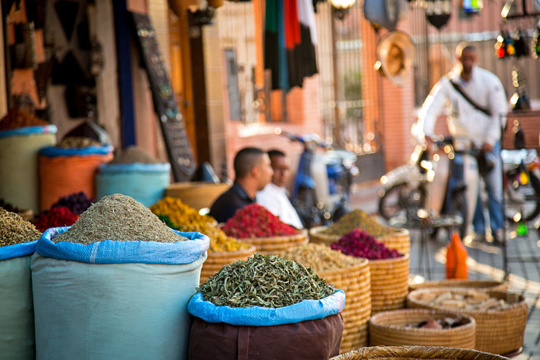 Shop in the old town of Marrakech, Morocco © Kajzr Photography - Fotolia.com