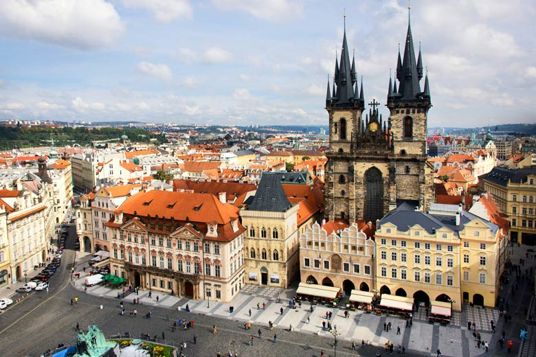 The Old Town Square in Prague © Danielle Bonardelle - Fotolia.com