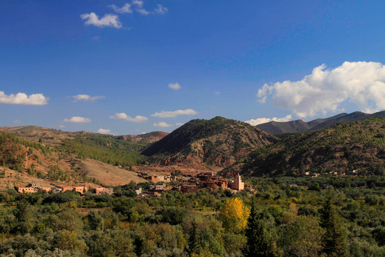 Ourika Valley, Marrakech in autumn © maximus shoots - Flickr Creative Commons