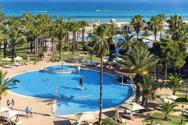 One of the outdoor pools at the Steigenberger Marhaba Hotel, Hammamet - photo courtesy of First Choice Holidays