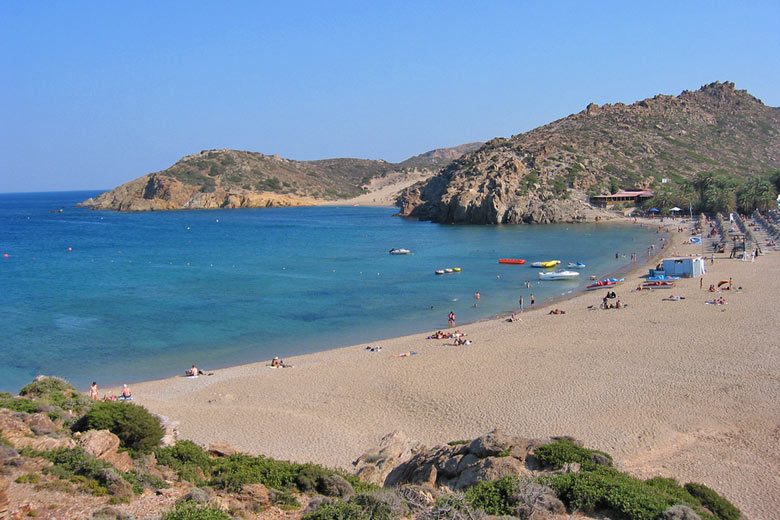 Beach at Vai, Crete © Paul Mannix - Flickr Creative Commons