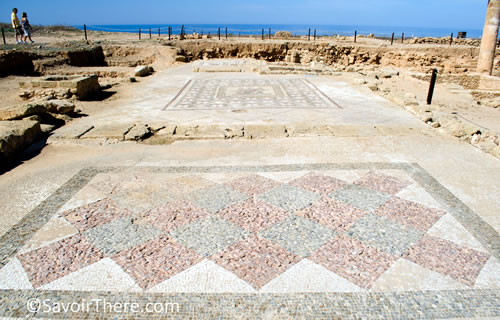 Paphos Archaelogical Site © SavoirThere.com