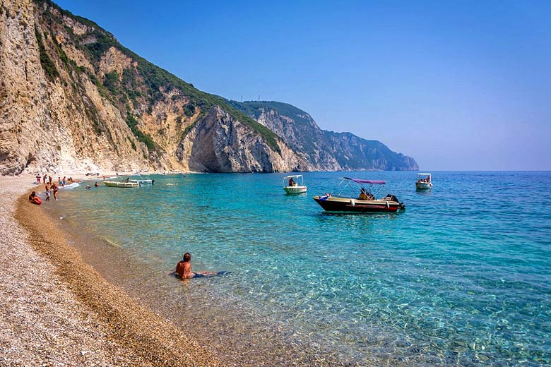Paradise Beach, Paleokastritsa, Corfu © philouvdv - Flickr Creative Commons