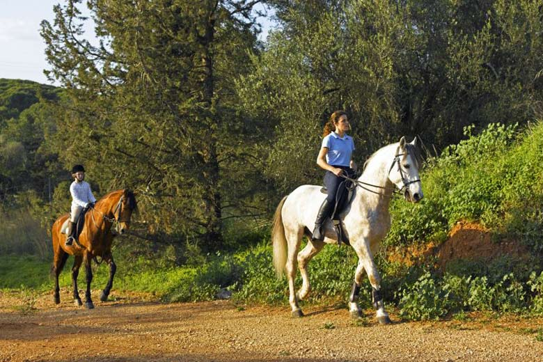Riding in the Environmental Park - photo courtesy of Marina de Vilamoura Resort