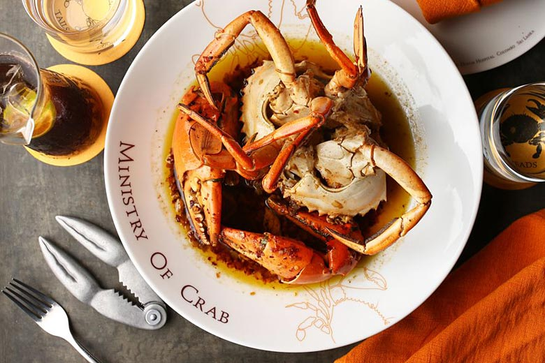 Peppered crab at the Ministry of Crab restaurant - photo courtesy of Ministry of Crab