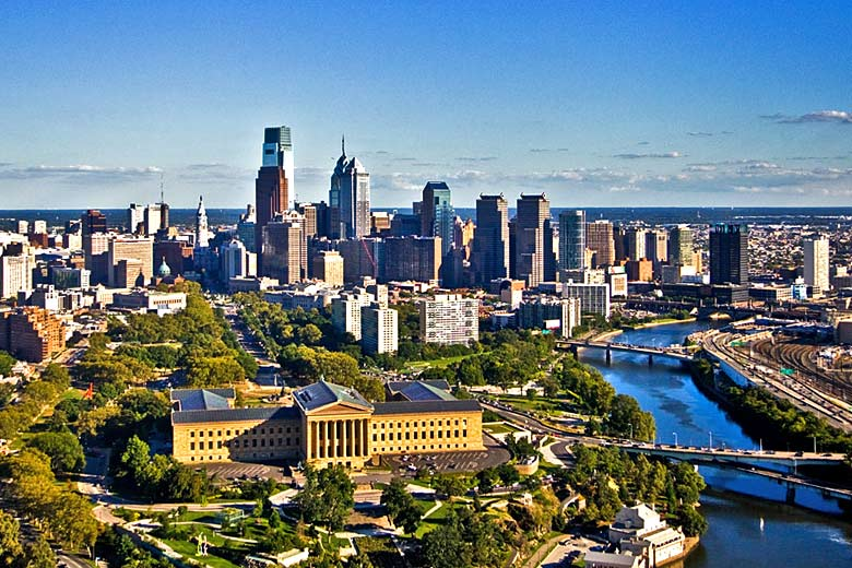 The historic city of Philadelphia in the United States - courtesy of Visit Philadelphia