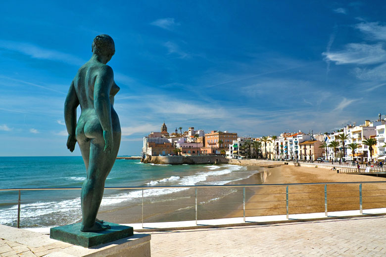 Beach in the centre of town, Sitges © Nejron Photo - Fotolia.com
