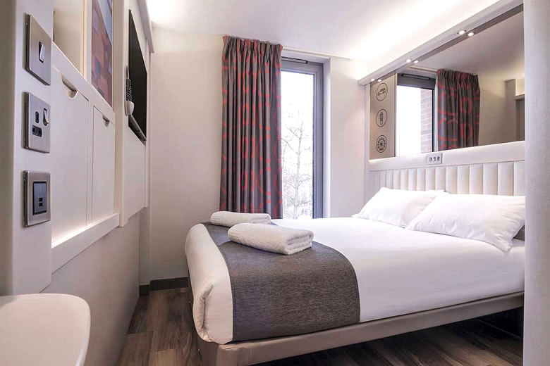 Double room in London Shoreditch © Point A Hotels