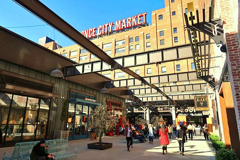 Entrance to Ponce City Market, Atlanta © Wyliepoon - Flickr Creative Commons
