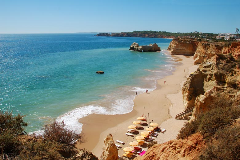 Beach holidays to Praia da Rocha, Algarve, Portugal © Agostinho Goncalves