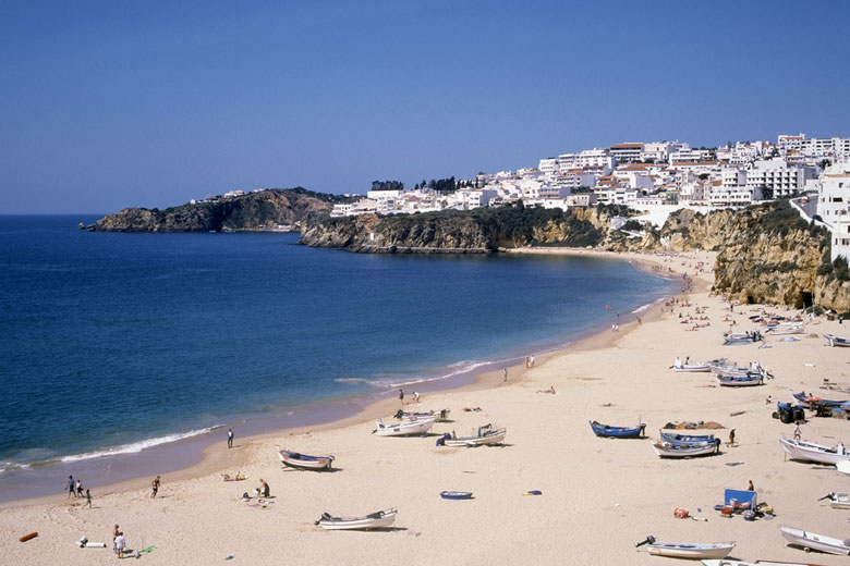 Praia dos Pescadores, Albufeira - photo courtesy of Algarve Promotion Bureau