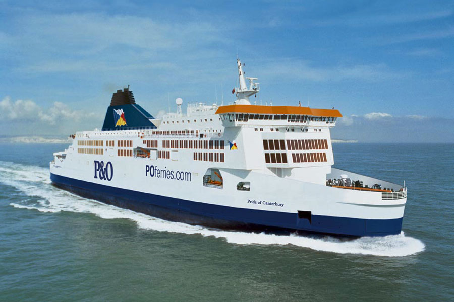 The Pride of Canterbury, Dover to Calais - photo courtesy of P&O Ferries