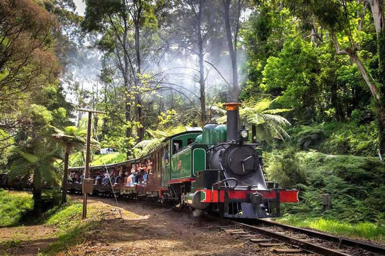 The Puffing Billy Railway, Melbourne - photo courtesy of www.puffingbilly.com.au