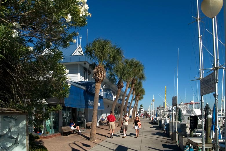 The quayside at Clearwater Marina, Clearwater, Florida © Ian Dagnall - Alamy Stock Photo