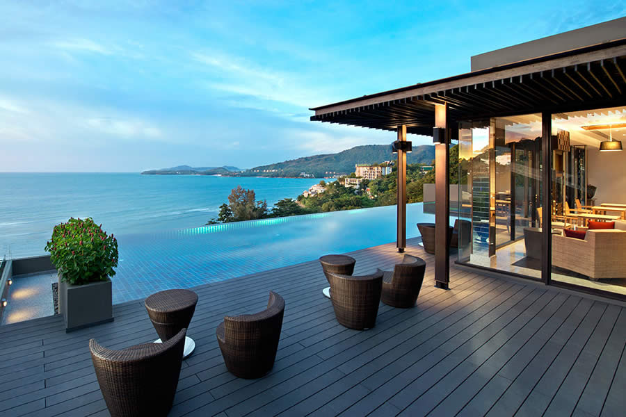Regency Club Lounge Terrace, Hyatt Regency Phuket, Thailand © Hyatt Corporation
