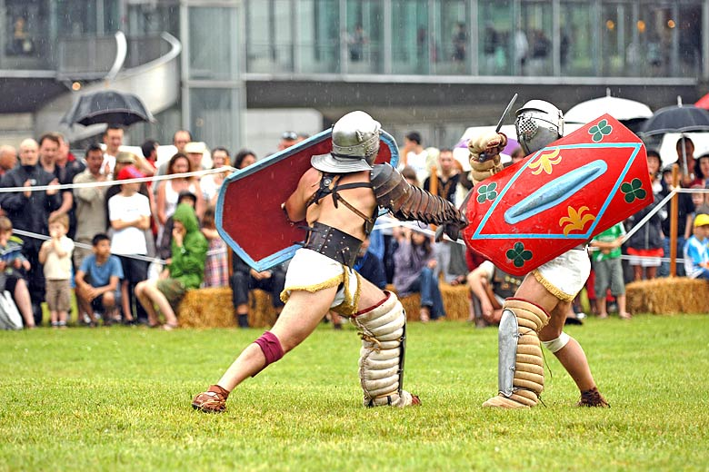 Vienne hosts a number of enthralling Roman festivals throughout summer © Paul Veysseyre - courtesy of Vienne Tourism