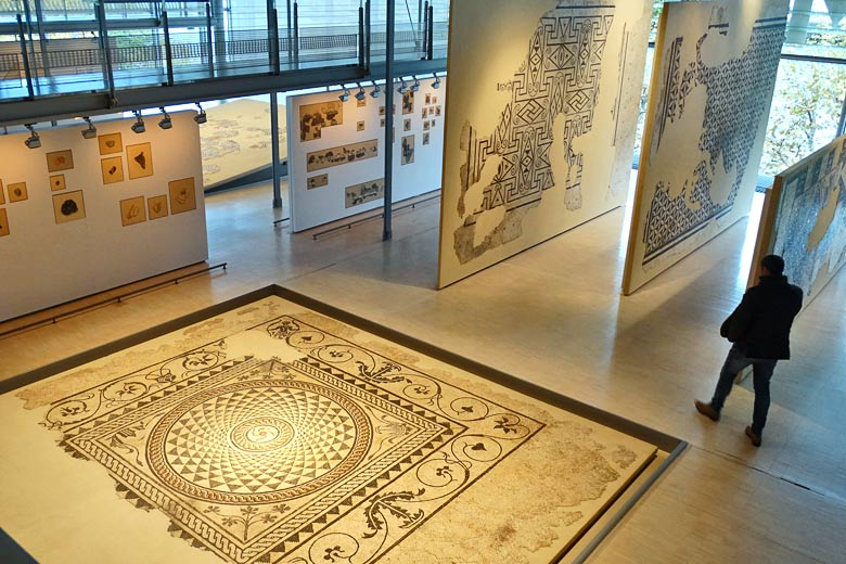 Ancient Roman mosaics at the Musée Gallo-Romain, Vienne - photo courtesy of Vienne Tourism
