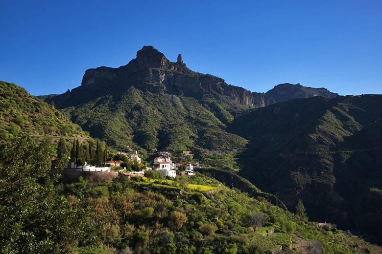 Tejeda and Roque Nublo - photo courtesy of Gran Canaria Tourist Board