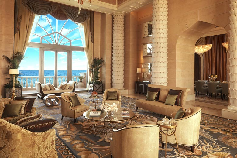 Royal Bridge Suite at Atlantis The Palm Dubai © Atlantis The Palm