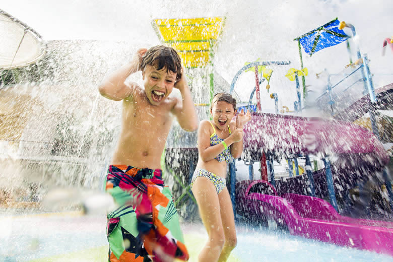 Kids enjoying Splashaway Bay onboard Liberty of the Seas © Royal Caribbean Cruises Ltd.