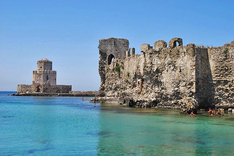 The ruins of Methoni Castle, Messinia, Greece © Flyax - Wikimedia Commons